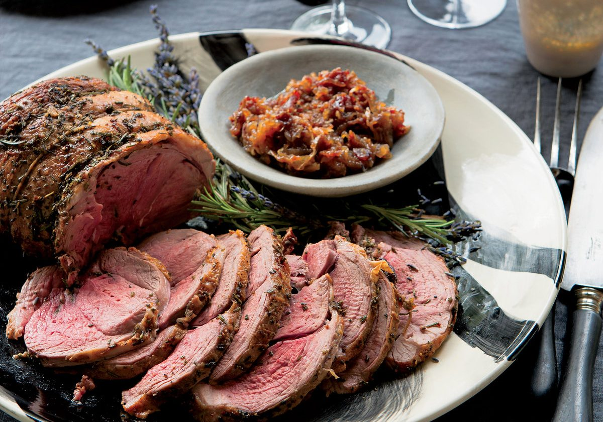 201404-xl-roast-leg-of-lamb-with-rosemary-and-lavender